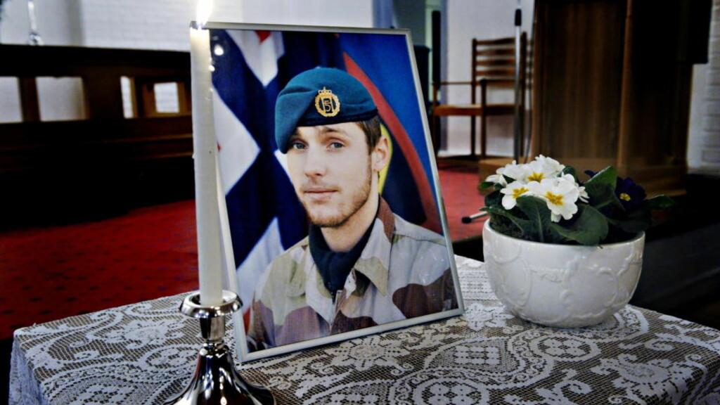 VAR EN DEL AV TELEMARK BATALJONEN: Claes Joachim Olsson ble mandag morgen drept da panservognen han førte ble rammet av en veibombe i Ghwormach-regionen i Afghanistan.