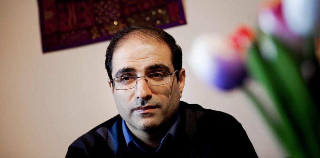 FORSØKT PRESSET TIL Å FORTSETTE: Den iranske konsulen Mohammed Reza Heydari hevder han ble forsøkt både presset og overtalt av iranske myndigheter til å trekke tilbake sin avskjedssøknad og fortsette å jobbe for regjeringen.  Foto: SCANPIX