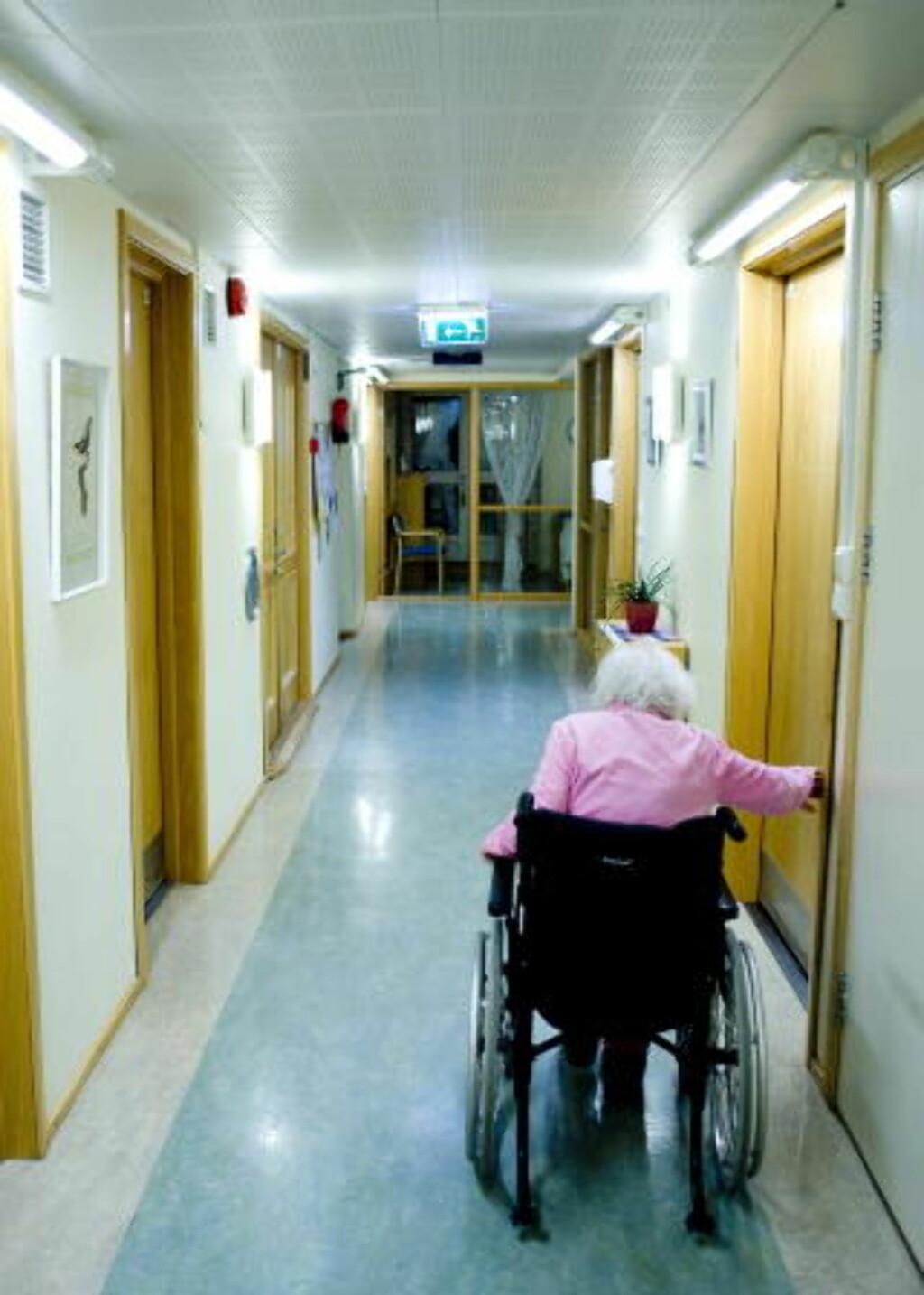 MANGE SYKEHJEM Det er mange privat drevne sykehjem i Oslo. Foto: Thomas Rasmus Skaug / Dagbladet