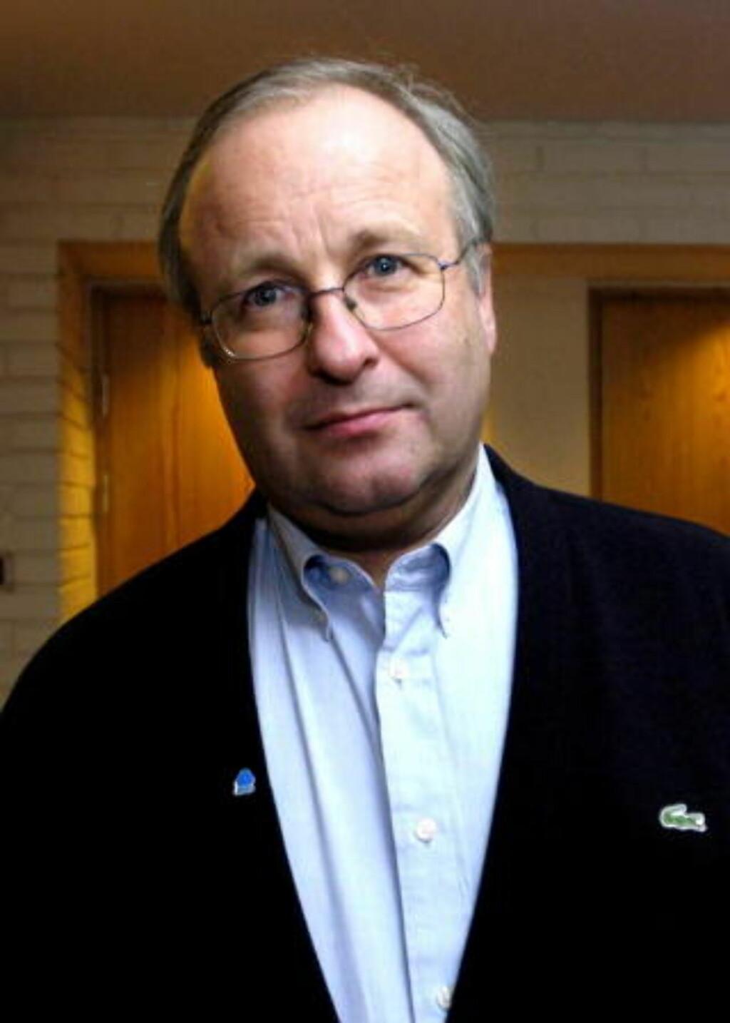 TULL OG PROPAGANDA:  Administrerende direktør Petter Furulund NHO Service. Foto: Arne V. Hoem / Dagbladet