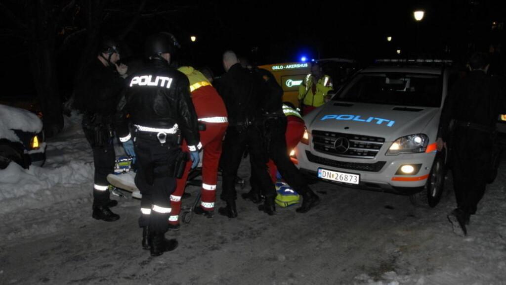 SKUTT I HODET: Den 17 år gamle gutten ble funnet i live, men døde senere av skadene på sykehus. Foto: Benjamin Bakken