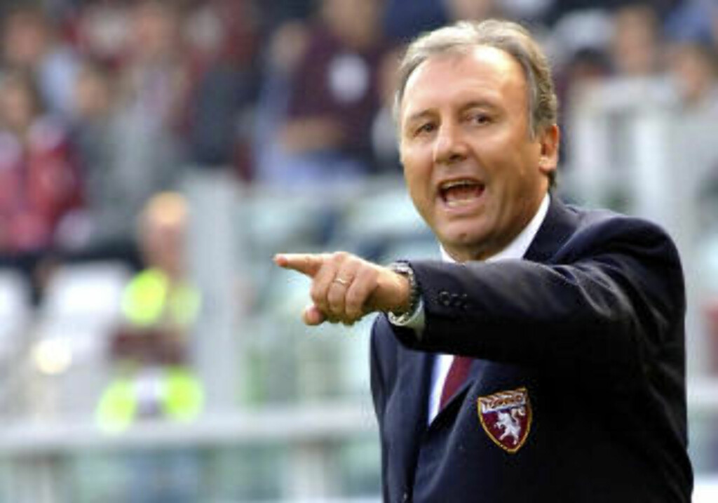 SKAL REDDE STUMPENE: Alberto Zaccheroni overtar som trener i skakkjørte Juventus. Foto:AP Photo/Massimo Pinca