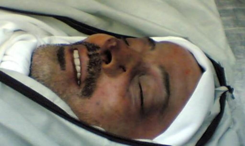 TIL SYRIA: Liket av Hamas-lederen Mahmoud al-Mabhouh ble brakt til Damaskus, der han ble gravlagt. Foto: EPA/HAMAS/SCANPIX