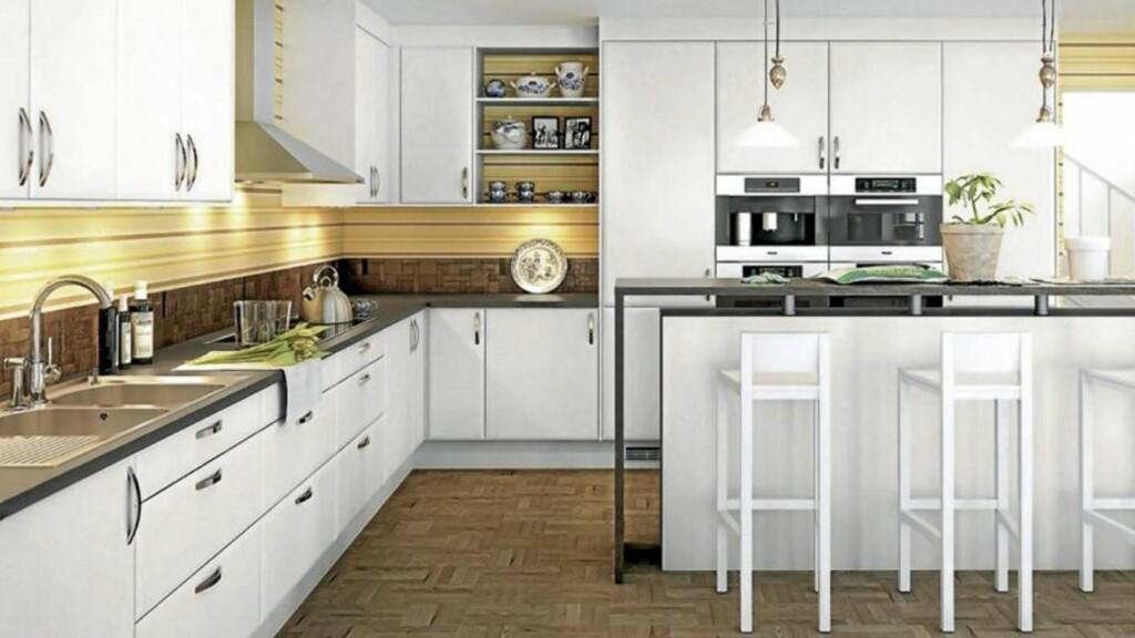 VIL DU HA ET PERFEKT KJØKKEN?: Den optimale løsningen på kjøkkeninnredningen starter med en god planlegging. Foto: Marbodal