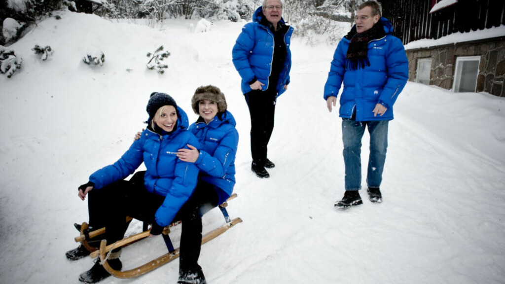 MEDALJEDRYSS: NRK-gjengen som skal til Vancouver tror på mange norske triumfer under vinter-OL. Foto: Øistein Norum Monsen.