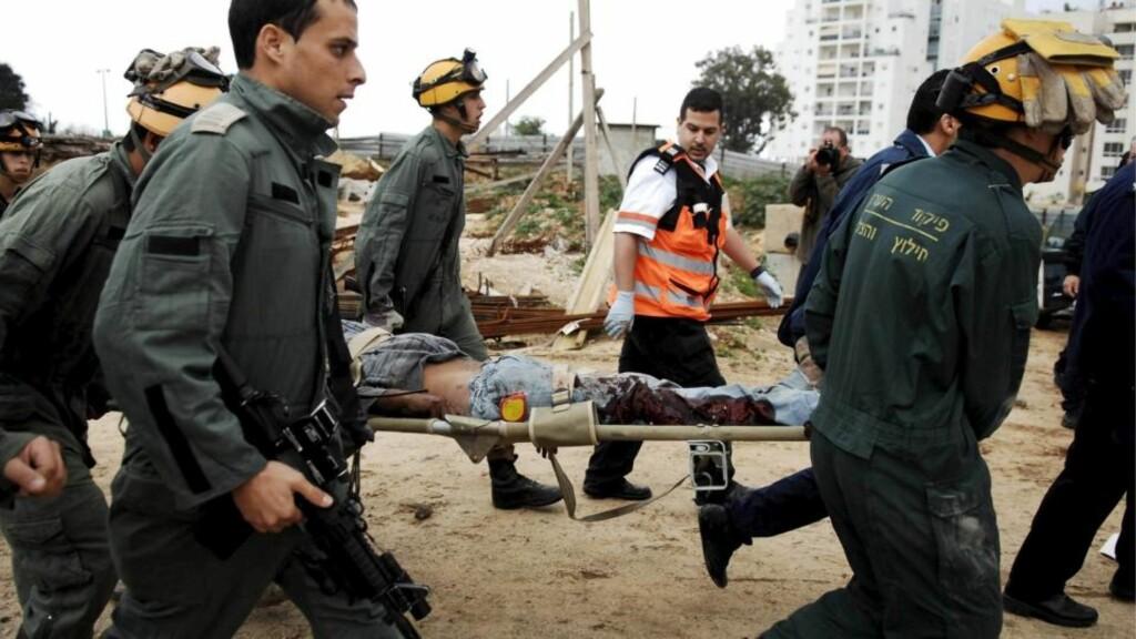 BEKLAGER DRAP PÅ SIVILE: Hamas beklager i en FN-rapport at raketter som har blitt avfyrt fra Gazastripen har drept sivile israelere. Foto: EPA/IDF/Scanpix