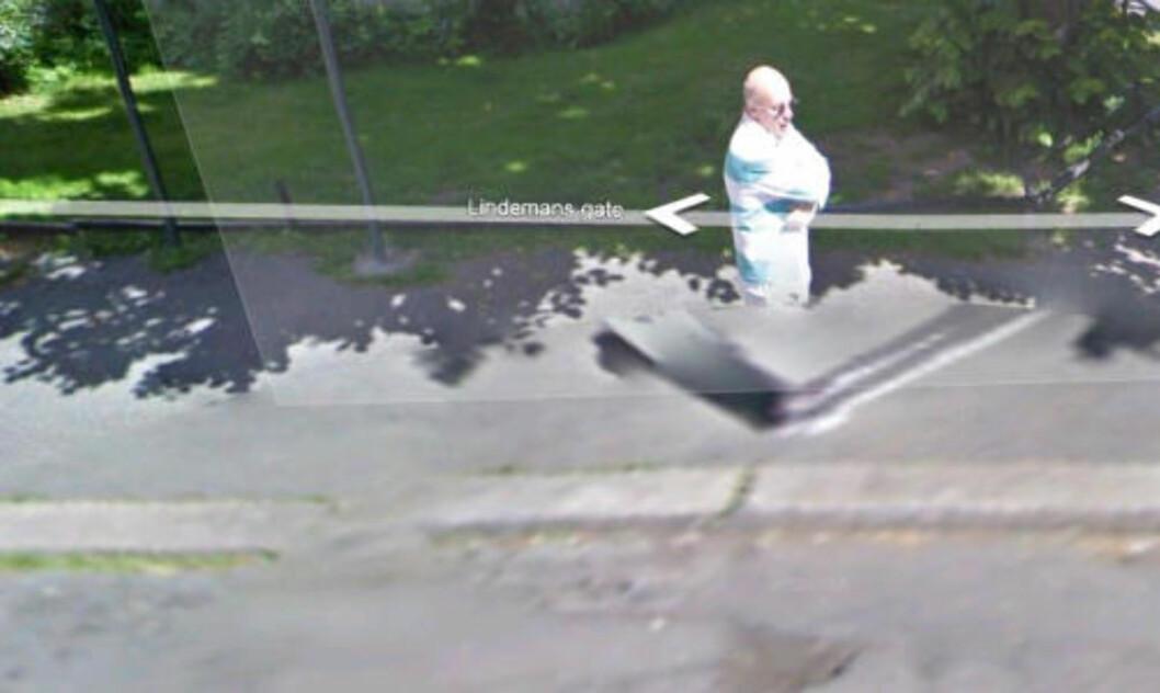 MEN, ER DET IKKE... En observant leser skriver at Google har glemt å sladde Tore Ryen i Lindemans gate.