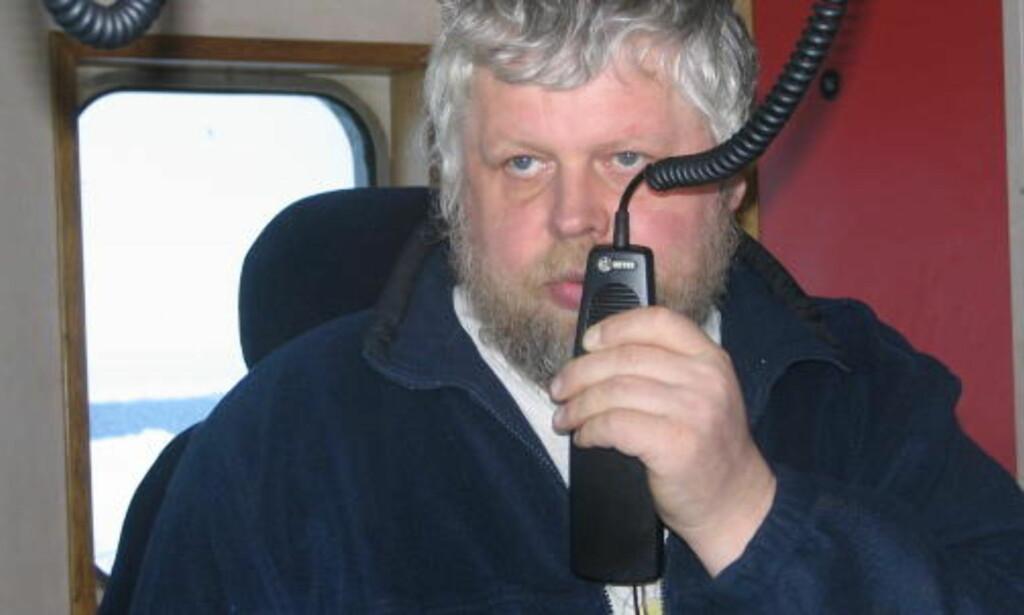 KJENNER SEG IKKE IGJEN: Skipper Karl Angelsen reagerer på rapporten fra selfangstinspektøren om bord M/S Kvitungen, og mener den gir et helt feil bilde av det omstridte selfangsttoktet han ledet i fjor vår. Foto: Privat