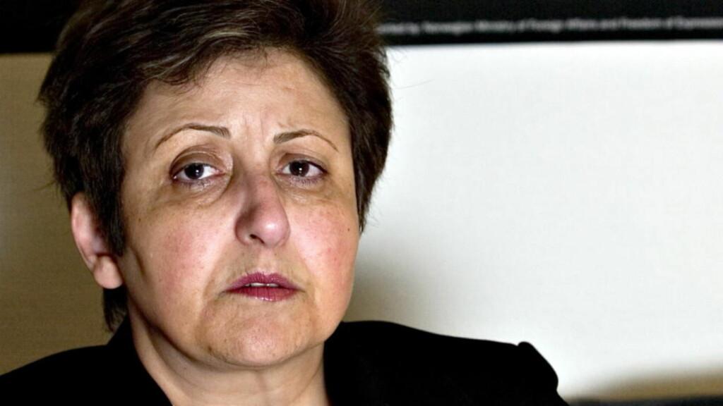 ADVARER: Tidligere fredsprisvinner Shirin Ebadi.   Foto: Tore Bergsaker/Dagbladet
