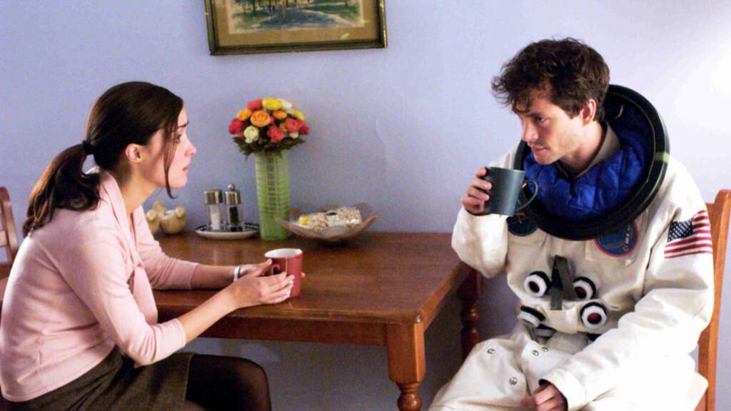 """Søtt, men troverdig: : Rose Byrne og Hugh Dancy spiller hovedrollene i """"Adam"""", som hanlder om et kjærlighetsforhold litt utenom det vanlige."""