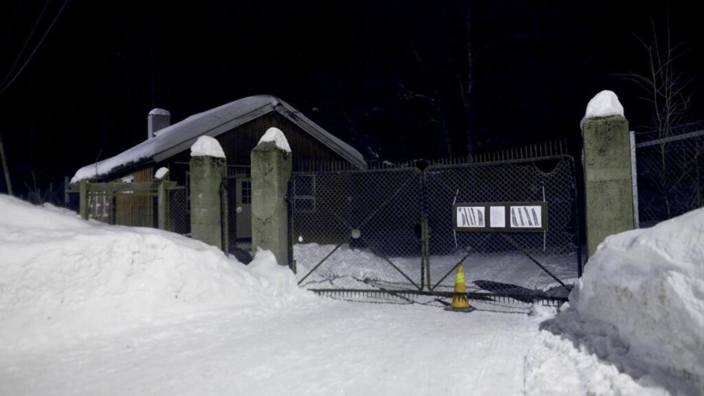OKKUPERT: Husokkupanteen fra Hausmannsgate har flyttet inn i tidligere militærleir i Oslomarka. Foto: Bjørn Langsem / Dagbladet