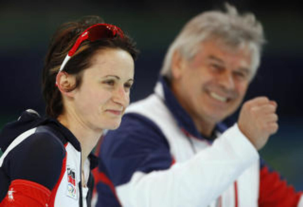 VANT GULLET: Tsjekkiske Martina Sablikova leverte en knallsterk tid på 3000 meter, og vant gull. Foto: Matt Dunham / AP.