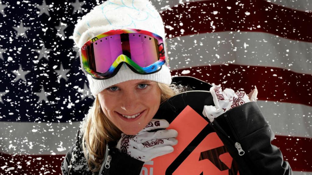 SKJØNNER IKKE KRITIKKEN: Snowboardstjernen Hannah Teter kan ikke forstå at folk reagerer på bikinibildene som sto på trykk i Sports Illustrated. Foto: AFP