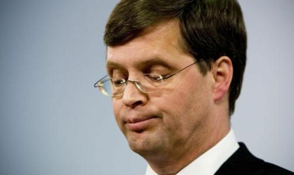 KAN TA TID Å FÅ NY REGJERING:  Nyvalg kan først bli aktuelt til sommeren i Nederland etter at statsminsiter Jan Peter Balkenende valgte å trekke seg.  Foto: SCANPIX/EPA
