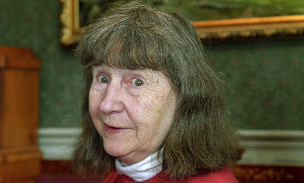 FOLKEKJÆR: Forfatter Anne-Cath. Vestly døde i 2008. Hun ble 88 år gammel. Foto:  Ingar Johansen   / Aftenposten / NTV Scanpix