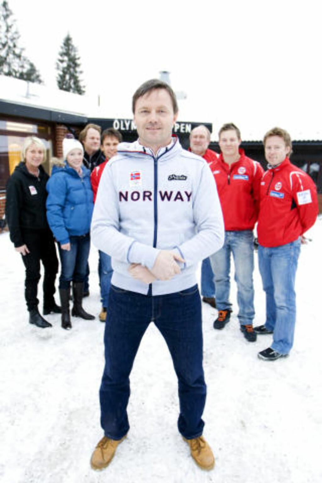 VAR ALPINTRENER: Toppidrettssjef Jarle Aambø gjorde det umulige mulig i alpint. Foto: Håkon Mosvold Larsen / Scanpix