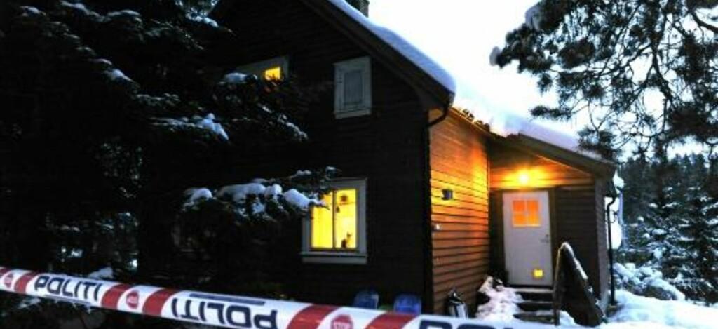 AVSPERRET: Her bor paret som er siktet i saken. Foto: Foto: John T. Pedersen/Dagbladet