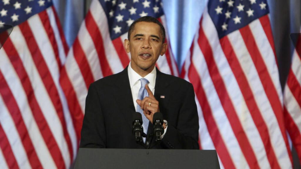 VIL IKKE STØTTE: USAs president Barack Obama vil ikke gi sin støtte til britisk oljeleting utenfor Falklandsøyene. Foto: Larry Downing/REUTERS