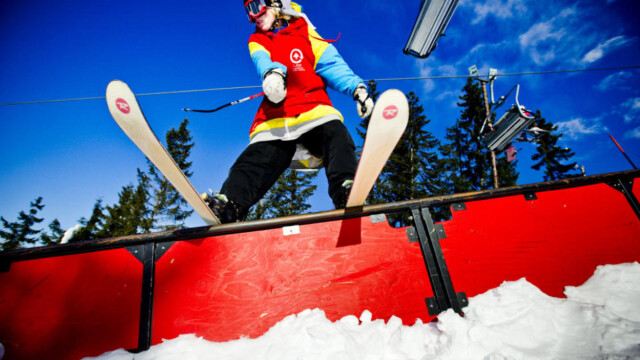 c3b45df0 TRYVANN VINTERPARK: En av tre i hovedstaden står på ski eller snowboard  minst en gang