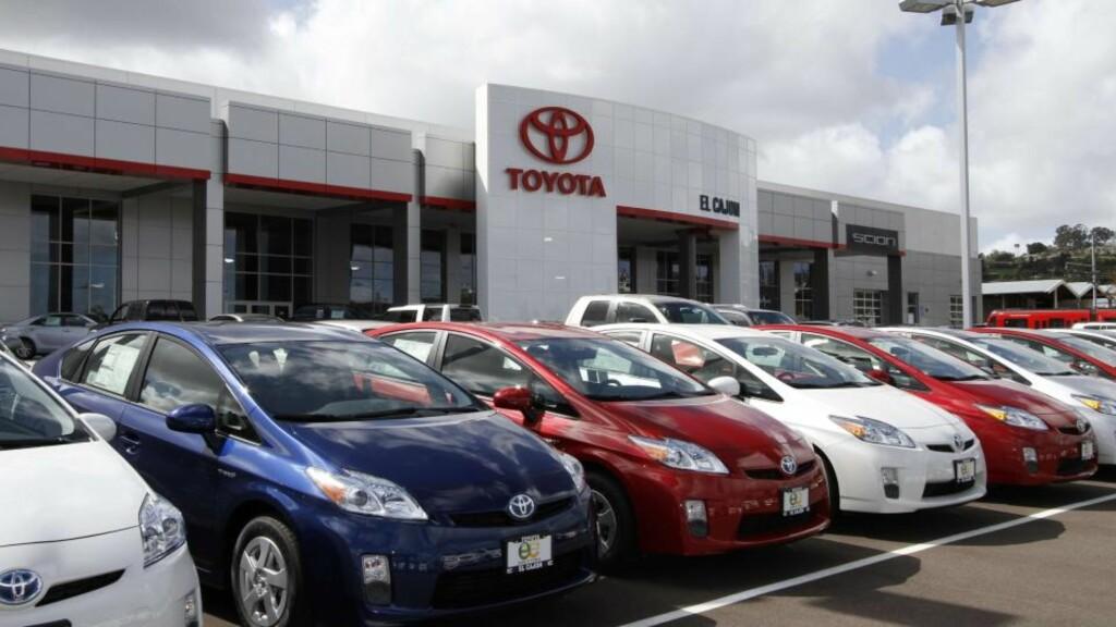 PEDALTRØBBEL I USA er Toyota Prius i søkelyset etter flere påståtte episoder med pedaler som henger seg opp. Nå hevdes det første tilfellet å ha funnet sted i Norge. Foto: AP