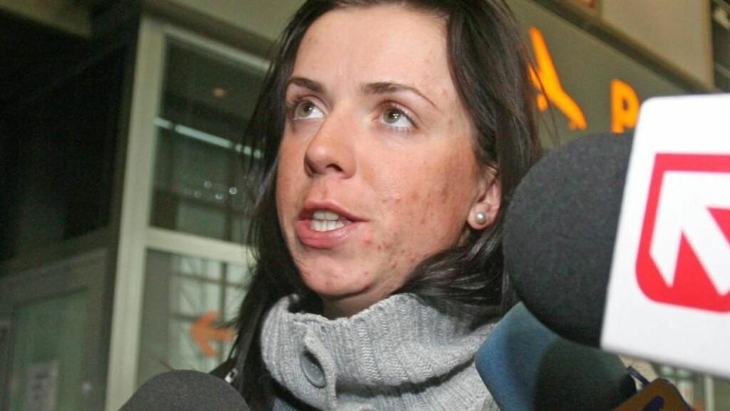 BENEKTER Å HA DOPET SEG: Kornelia Marek bedyrer fortsatt sin uskyld, men blir utestengt i to år og mister OL i 2014 etter dopingtesten i Vancouver. Foto: EPA/JACEK BEDNARCZYK