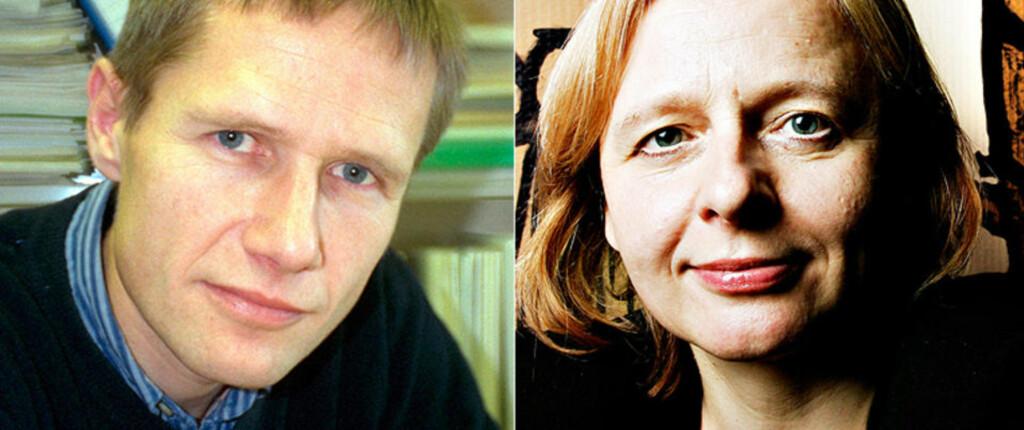 I DEBATT: Arne Mastekaasa og Marianne Nordli Hansen har studert yrke- og utdanningsvalg.