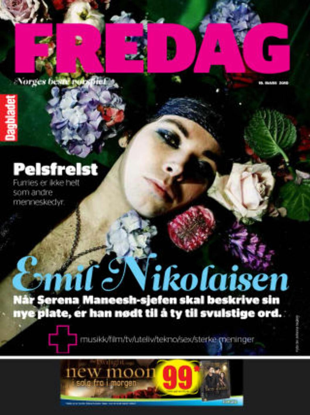 <strong>PÅ TRYKK:</strong> Reportasjen om de norske furriene står på trykk i siste FREDAG.