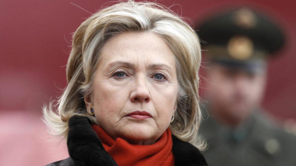 NÆR AVTALE:USAs utenriksminister Hillary Clinton besøkte fredag Moskva. USA og Russland er nær ved å bli enige om en avtale om atomnedrustning. Foto: REUTERS / Grigory Dukor / SCANPIX