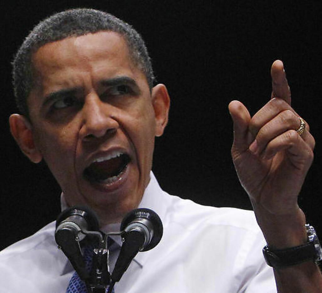 30 MILLIONER UTEN HELSEFORSIKRING:  Barack Obama legger all sin politiske tyngde i å få gjennomført helsereformen.  Foto: Scanpix/REUTERS