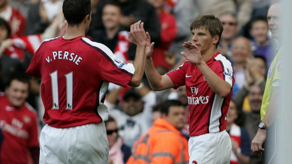 SNART TILBAKE: Rovin van Persie kan likevel klare å være tilbake før mai. Det bør glede Andrej Arsjavin, som er bekymret for Arsenals tynne spillerstall.Foto: SCANPIX/AP/Akira Suemori