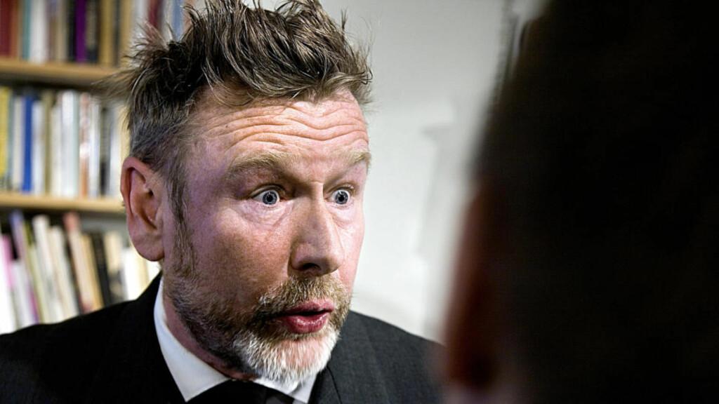 I MEDVIND: Forfatteren Tomas Espedal er nominert til Nordisk Råds litteraturpris. Onsdag blir det offentlig hvem som vinner den prestisjetunge bokprisen. Foto: Anders Grønneberg