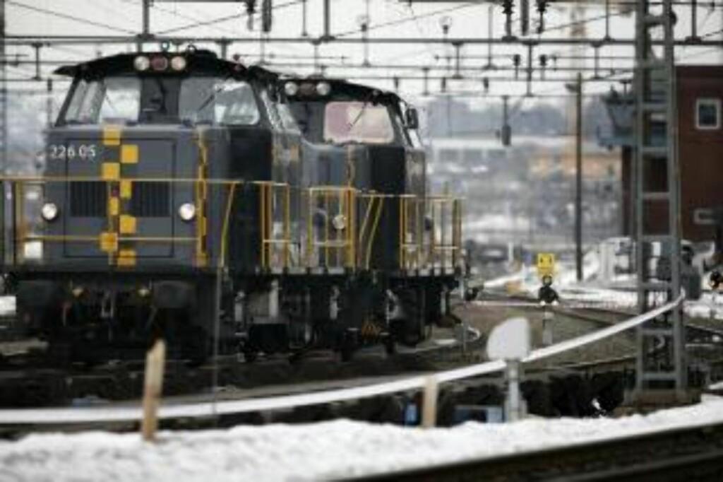 LØP LØPSK: Vognene har ikke nødbrems når lokomotivene ikke er koblet til. Foto: Torbjørn Grønning/Dagbladet