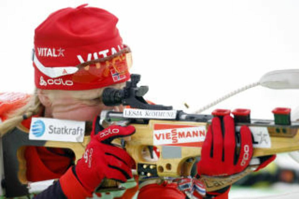 BESTE NORSKE: Tora Berger ble beste nordmann på en 14.-plass på sprinten i verdenscupavslutningen.    Foto: Håkon Mosvold Larsen / Scanpix