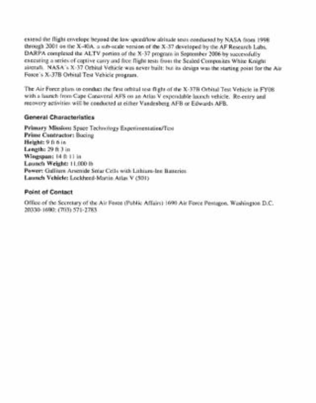 Se dokumentet som pdf her. Faksimile: U.S. Air Force