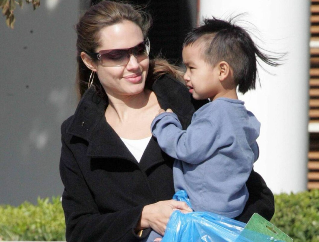 <strong>GJØR KARRIERE:</strong> Angelina er fast bestemt på å kombinere jobben med å være mamma for Maddox og søsknene. Foto: All Over Press