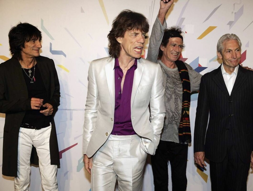 <strong>ROCKER VIDERE:</strong> Rolling Stones lover at de kommer til Bergen. I kveld begynner turneen i Milano. Foto: All Over Press