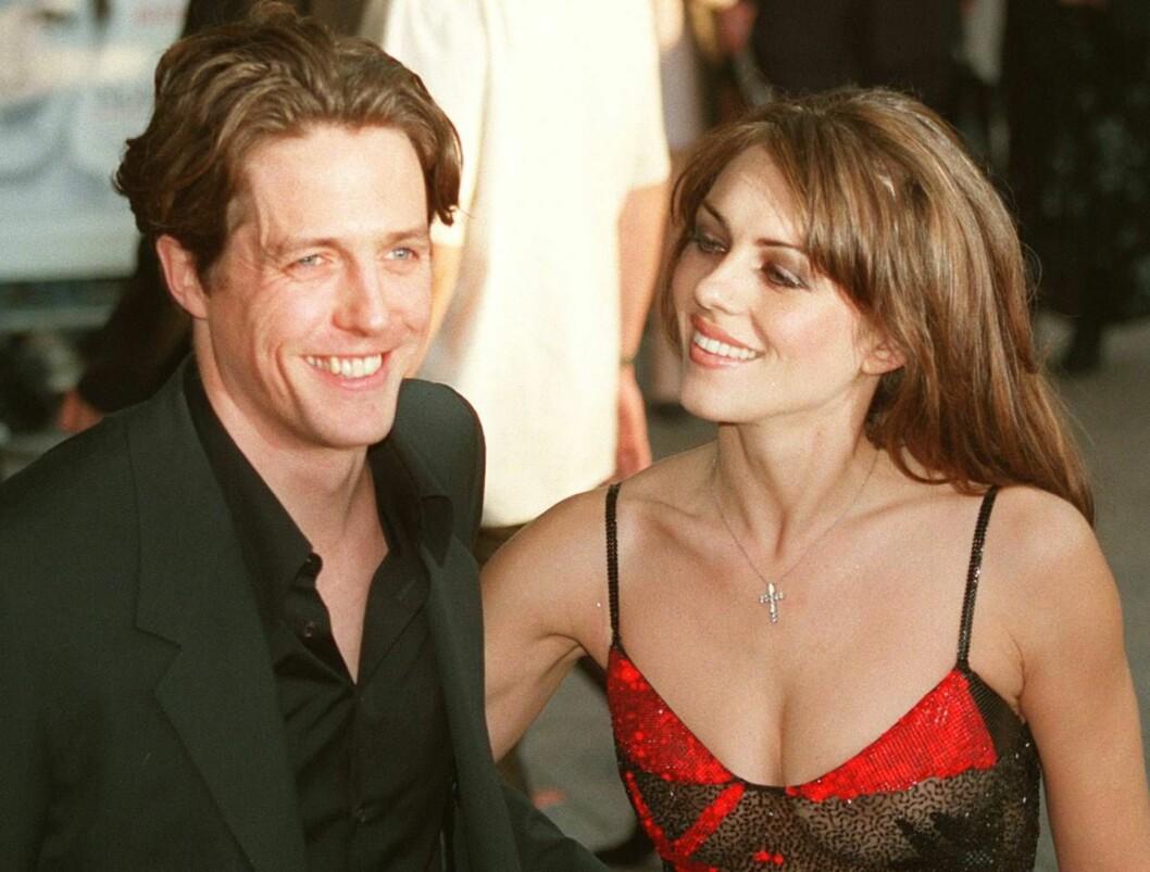 <strong>TABBE:</strong> Hugh Grant hadde vært sammen med modellen Liz Hurley i åtte år da han plukket opp en gateprostituert i Los Angeles. Det skulle han aldri ha gjort... Foto: AP