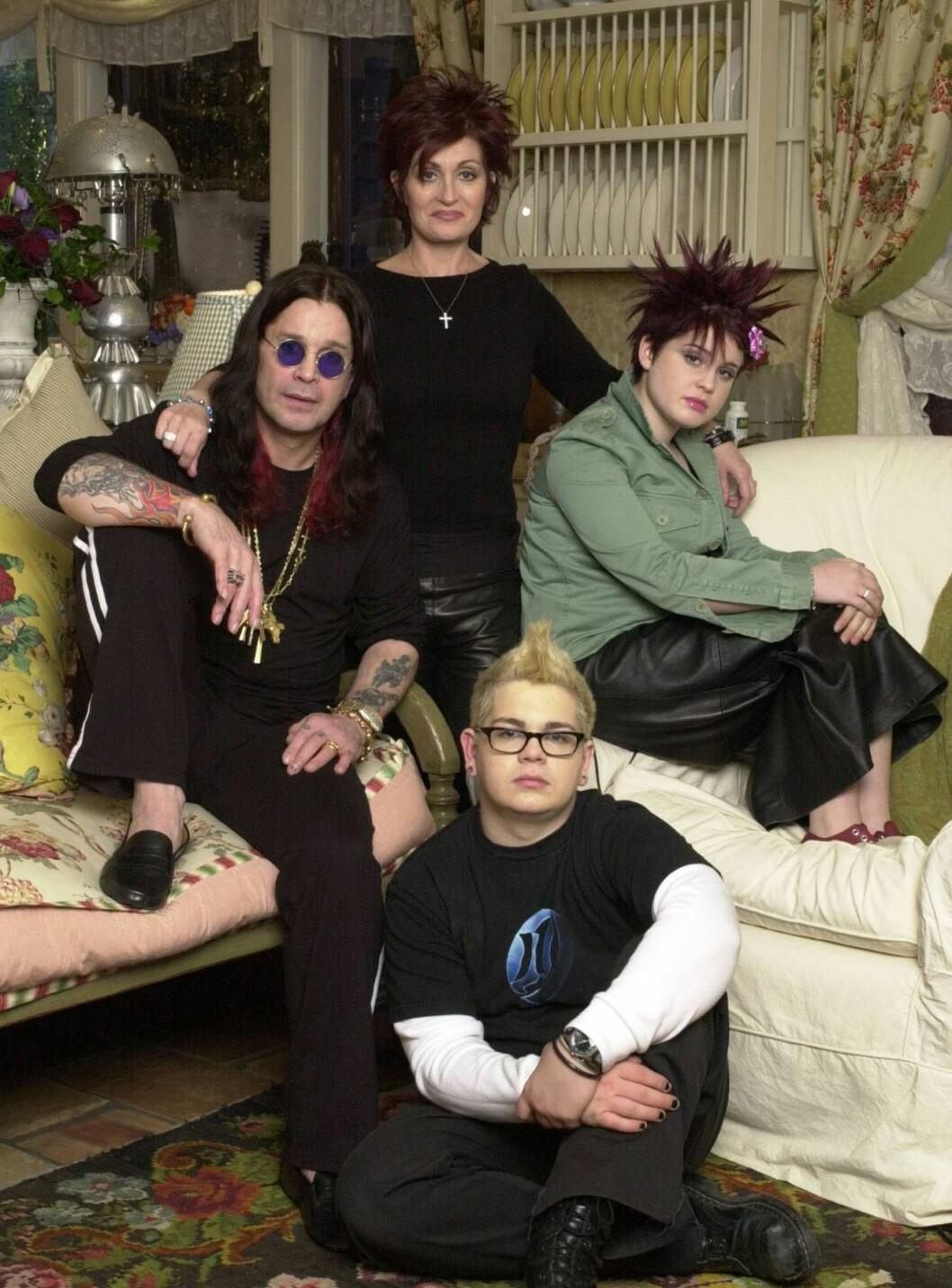 <strong>HJEMMEBRANN:</strong> Det er foreløpig ikke klart hva som startet brannen hjemme hos Ozzy, Sharon, Kelly og Jack Osbourne. Foto: All Over Press
