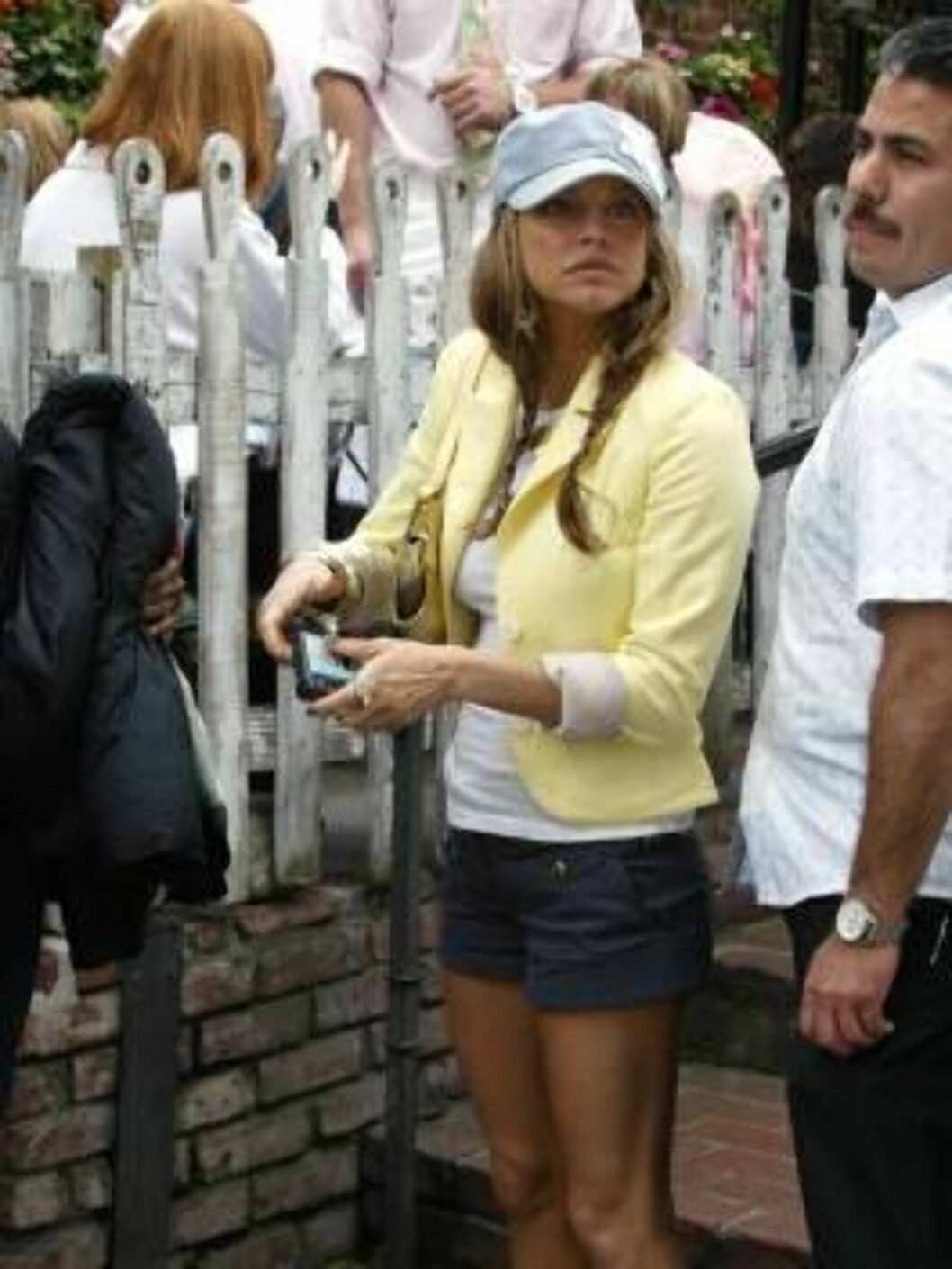<strong>Code:</strong> X17XX8 - Garcia, Beverly Hills, USA, 16.03.2005: Black Eyed Peas singer Fergie visits Beverly Hills eatery The Ivy in shorts. All Over Press / X17 Agency / Garcia / ALL OVER PRESS Foto: All Over Press
