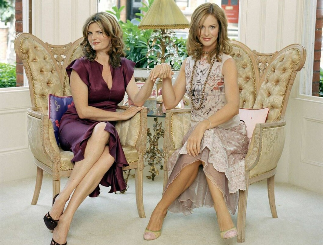 <strong>Picture Shows:</strong> (L to R) Susannah Constantine and Trinny Woodall. TX Date: Wednesday 29th September 2004 The hugely popular series What not to Wear, moves to BBC One. In this series, the women keen on the What Not To Wear treatment have volunteered for a s Foto: BBC