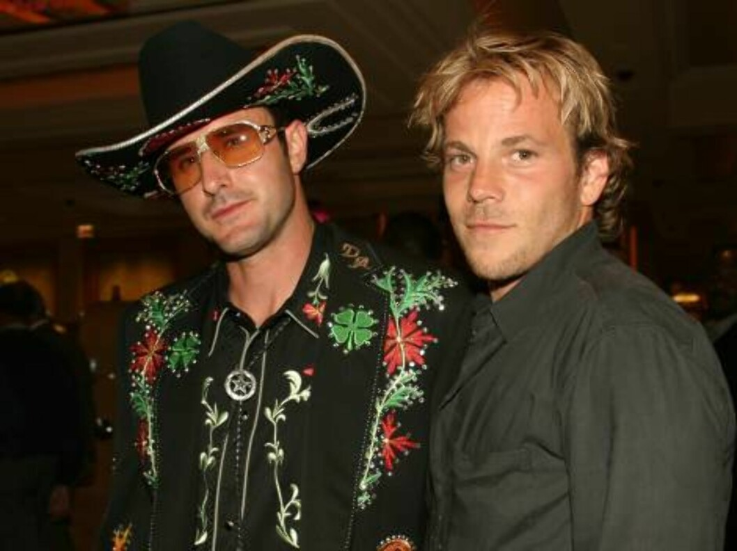<strong>ATLANTIC CITY, NJ - JULY 3:</strong>  Actors David Arquette and Stephen Dorff celebrate the grand opening of the Borgata Hotel and Casino in Atlantic City, NJ on July 3, 2003. (Photo by Sara Jaye/Getty Images)  * SPECIAL INSTRUCTIONS:  * *OBJECT NAME: 2131855 SJ02 Foto: All Over Press