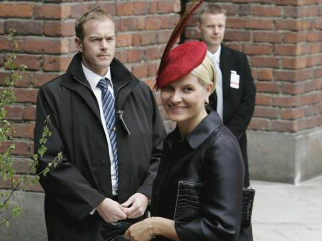<strong>STOCKHOLM, SWEDEN - APRIL 30:</strong>  Princess Mette-Marit of Norway arrives at the Parliment's Lunch at City Hall to celebrate H.M. King Carl XVI Gustaf of Swedens 60th birthday on April 30, 2006 in Stockholm, Sweden.  (Photo by Chris Jackson/Getty Images) *** Foto: All Over Press