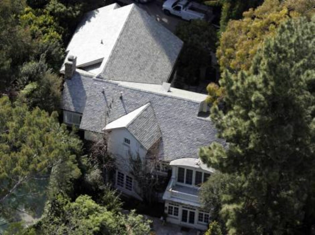 Jessica Simpson's new house after breakup with Nick Lachey. Her new pad is being updated as she is filming in New Mexico. March 16, 2006 / ALL OVER PRESS Foto: All Over Press