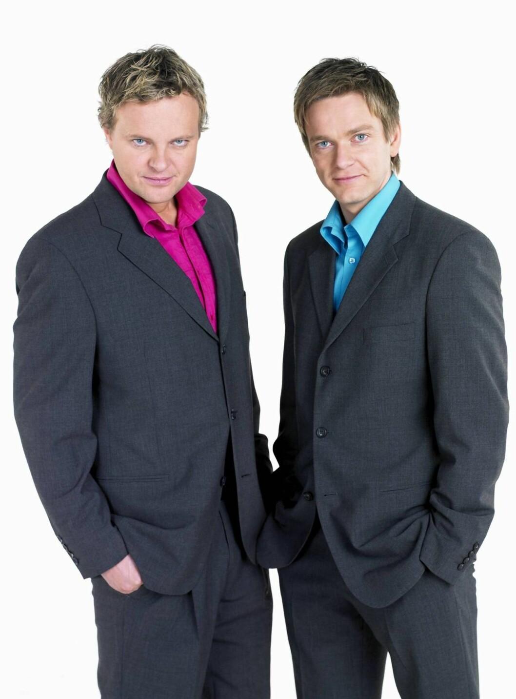 <strong>SOMMER-SHOWER:</strong>Kjetil Hasselberg (t.v.) og Kjartan Eide skal spille i Kristiansand, Grimstad og Tønsberg.