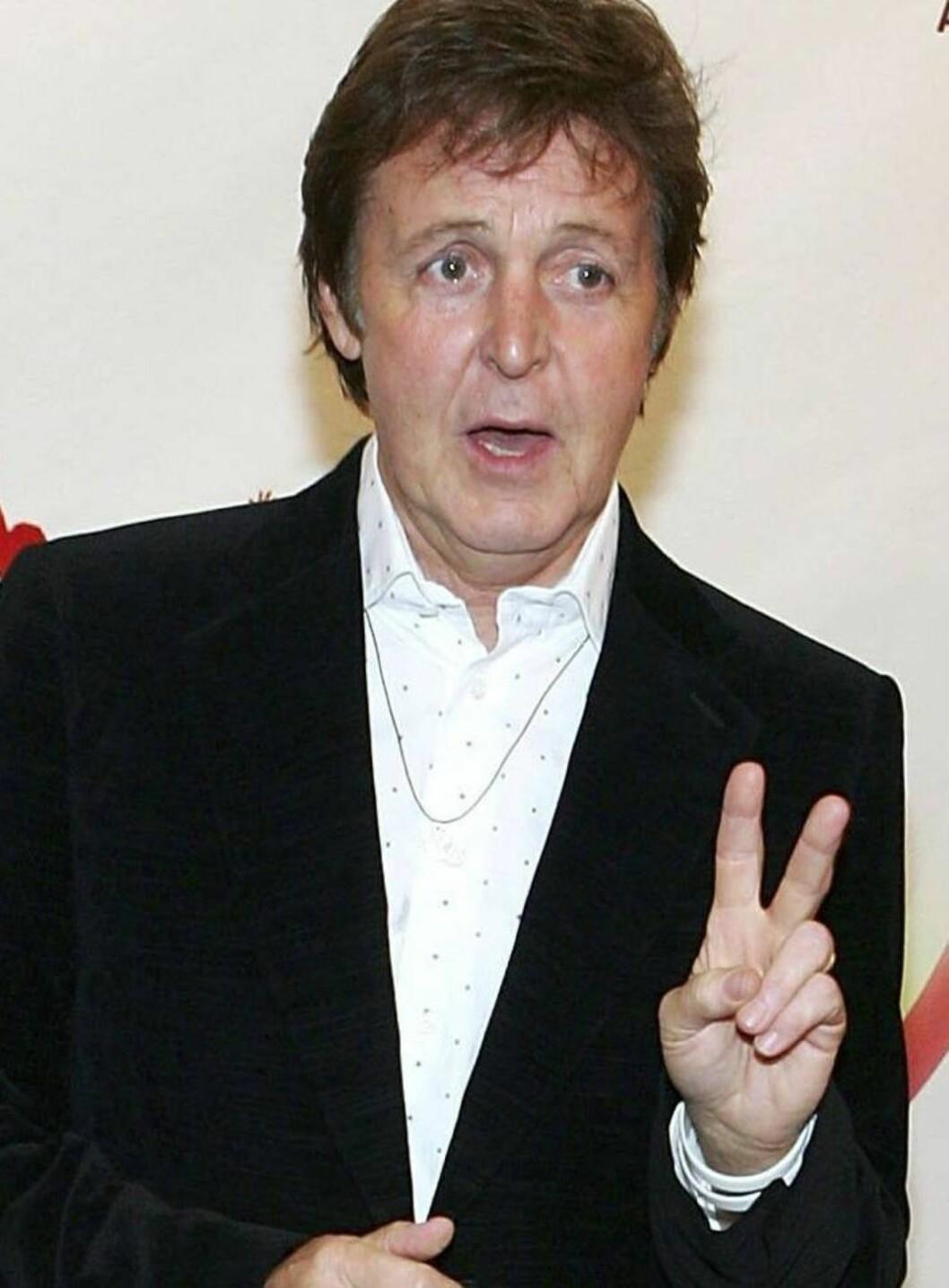 <strong>SMILER IGJEN:</strong> Paul McCartney dro på byen uten Heather - og kunne endelig smile igjen. Foto: All Over Press