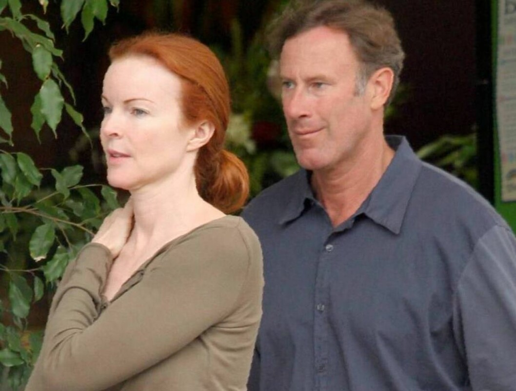 NYGIFT: Marcia giftet seg nettopp med Tom Mahoney Foto: All Over Press