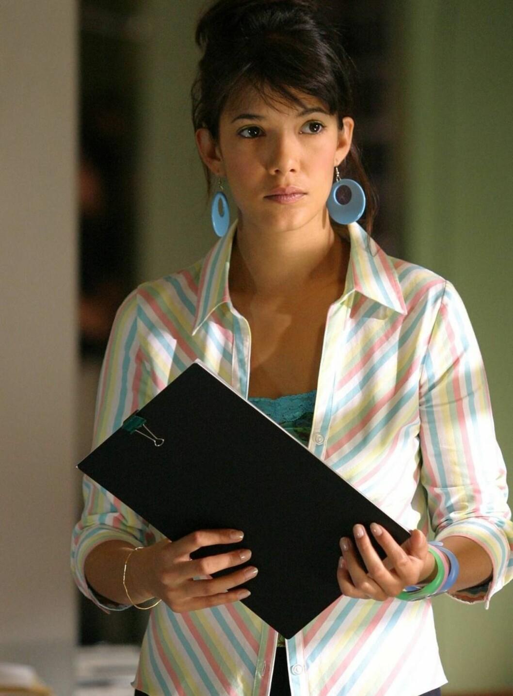 <strong>ROMANTISK:</strong> Melanie Doutey som Clara Sheller. Foto: NRK