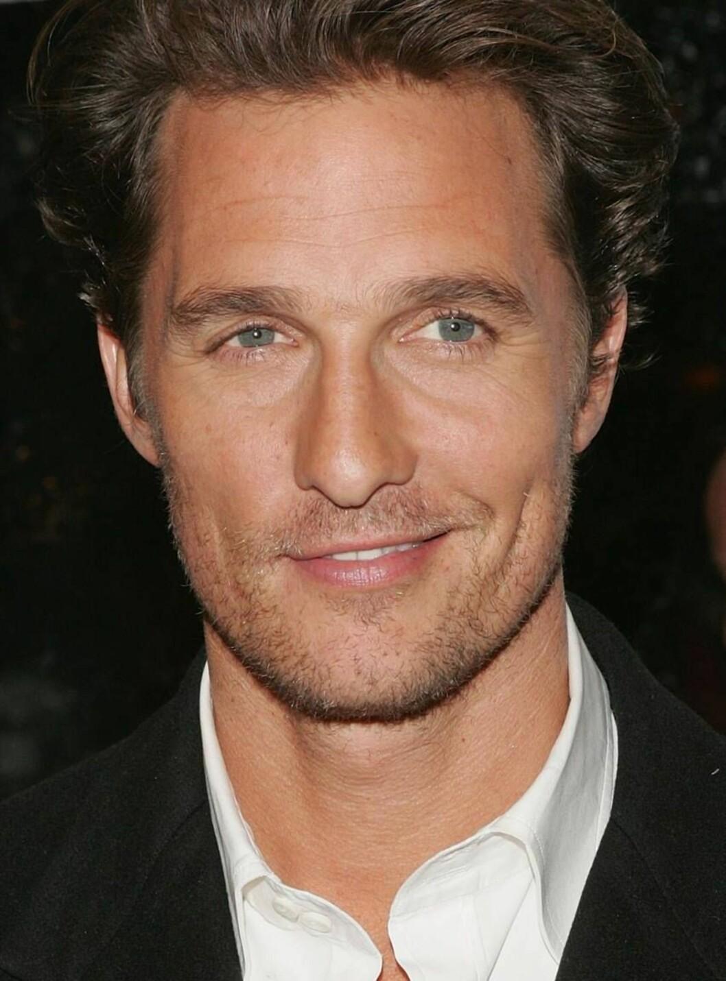 <strong>NYSINGEL:</strong> Matthew McConaughey ble ledig på markedet etter bruddet med Penélope Cruz. Foto: All Over Press