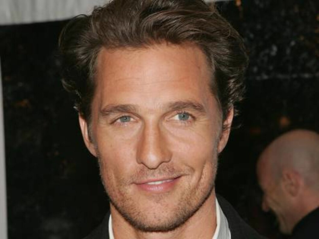 """<strong>NEW YORK - MARCH 08:</strong>  Actor Matthew McConaughey attends the premiere of """"Failure To Launch"""" at Clearview Chelsea West March 8, 2006 in New York City.  (Photo by Peter Kramer/Getty Images) *** Local Caption *** Matthew McConaughey  * SPECIAL INSTRUCTIONS: Foto: All Over Press"""