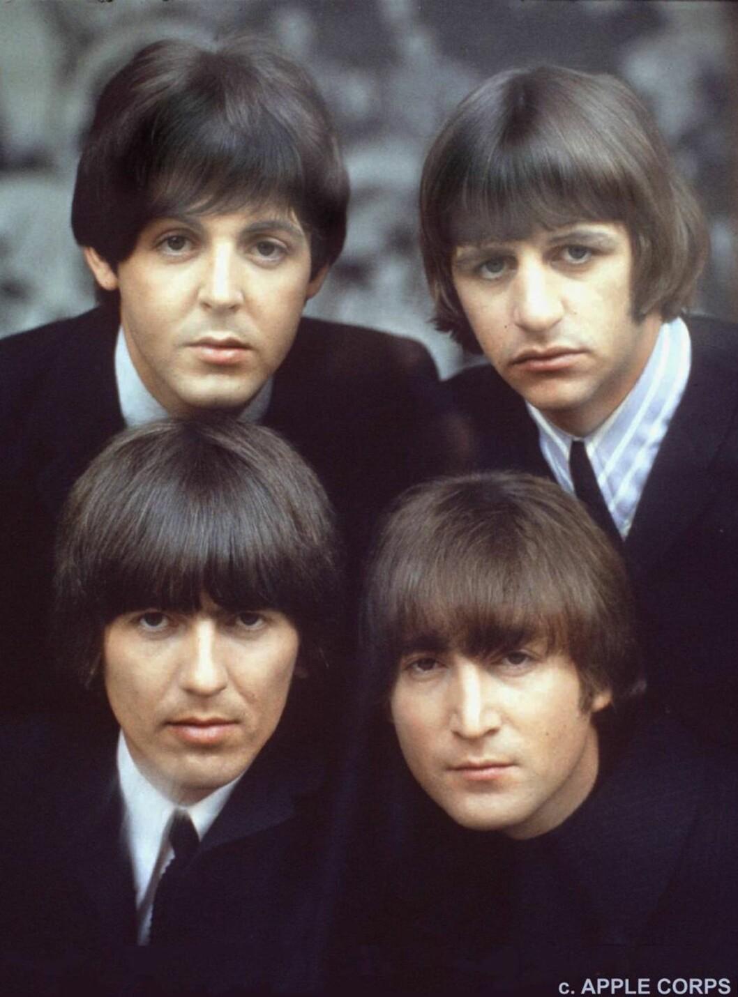 <strong>SPILTE OPP:</strong> The Beatles var med og gjorde Top of The Pops til en 42 år lang suksess. Foto: AP/SCANPIX